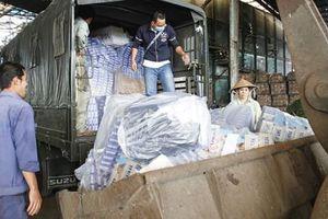 Cần Thơ: Tiêu hủy hơn 177.000 bao thuốc lá nhập lậu