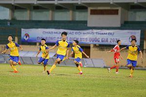 U19 Khánh Hòa và U19 Becamex Bình Dương lội ngược dòng giành chiến thắng