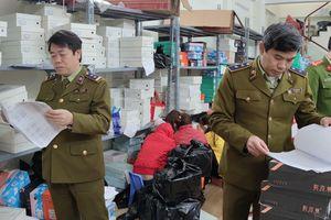 Dồn lực ngăn chặn, xử lý hàng hóa không rõ nguồn gốc dịp cuối năm