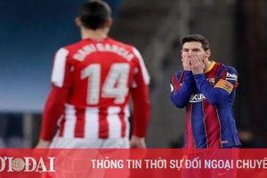 Messi chính thức nhận án phạt vì đánh nguội cầu thủ Athletic Bilbao