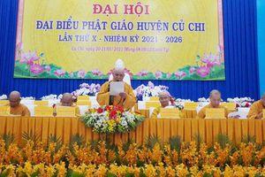 Phiên trù bị Đại hội Phật giáo huyện Củ Chi nhiệm kỳ X