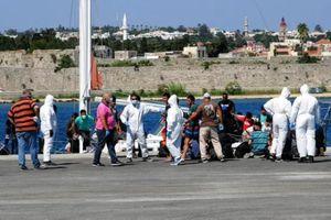 Lực lượng tuần duyên Hy Lạp vớt thi thể một người di cư và giải cứu 27 người ở Lesbos