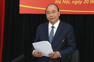 Thủ tướng Nguyễn Xuân Phúc làm việc với Hội nạn nhân chất độc da cam/dioxin