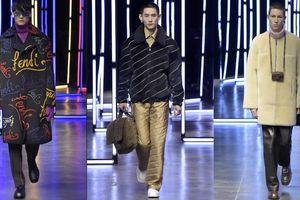 BST Fendi Thu Đông Nam 2021: Sắc màu thời trang tái định nghĩa khái niệm 'bình thường mới'