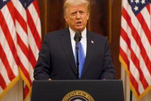 Trước giờ G chuyển giao quyền lực ở Mỹ - Tổng thống Trump phát biểu chia tay