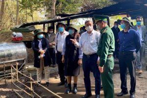 Tăng cường 'thế trận lòng dân' bảo vệ tuyến biên giới phòng chống dịch COVID-19