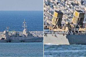 Israel đưa bản đặc biệt của 'vòm sắt' lên chiến hạm