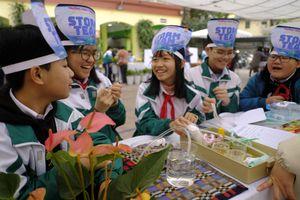 Cùng xem học sinh tạo lập hệ thống tưới cây tự động trong 9 ngày nghỉ Tết Tân Sửu