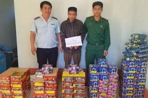 Kon Tum: Phát hiện vụ vận chuyển pháo trái phép