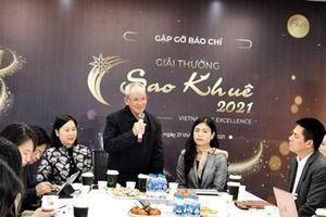 Giải thưởng Sao Khuê 2021 sẽ bình chọn giải thưởng theo 6 nhóm