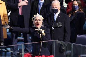 Lady Gaga hát trong lễ nhậm chức của ông Joe Biden