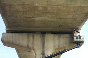 Bộ Xây dựng kiểm tra hiện trường sự cố metro số 1 ở TP.HCM