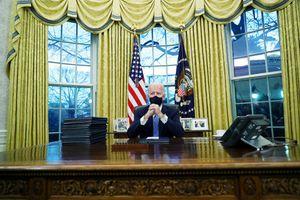 Bên trong Phòng Bầu dục thời Tổng thống Biden