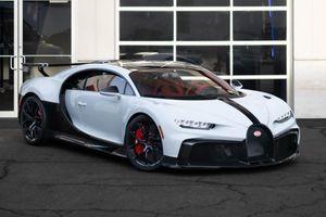 Siêu xe Bugatti Chiron Pur Sport màu đặc biệt đầu tiên ở Mỹ đã có chủ