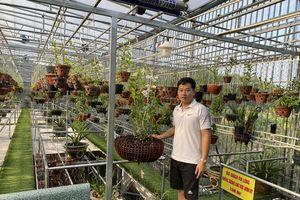 Phạm Thăng Bằng sẵn lòng chia sẻ kinh nghiệm với người đam mê hoa lan