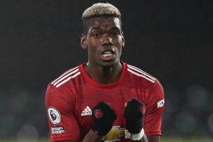 Paul Pogba sắm vai người hùng, Man United vất vả trở lại ngôi đầu