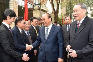 Thủ tướng Nguyễn Xuân Phúc làm việc với T.Ư Hội Nạn nhân chất độc da cam/đi-ô-xin Việt Nam