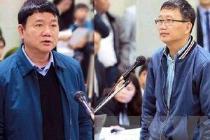 Ông Đinh La Thăng và Trịnh Xuân Thanh cùng hầu tòa trong vụ án Ethanol Phú Thọ