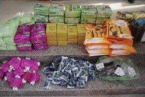 Bắt vụ vận chuyển gần 90kg ma túy