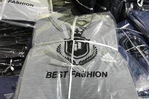 Xử phạt DN sản xuất hàng nghìn áo phông giả thương hiệu nổi tiếng