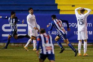 Cực sốc: Real Madrid bị đội bóng hạng ba loại tại Cúp Nhà Vua