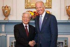 Tổng Bí thư, Chủ tịch nước chúc mừng ông Biden nhậm chức Tổng thống Mỹ
