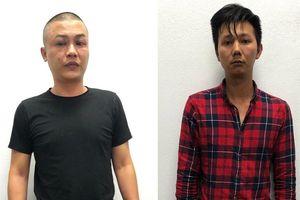 Không đội mũ bảo hiểm, 2 thanh niên tông xe cảnh sát 911 Đà Nẵng