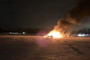 Trực thăng quân sự bị rơi ở New York, Mỹ, 3 người thiệt mạng