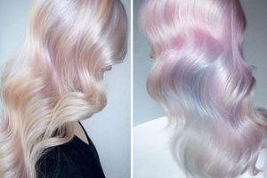 Bắt trend nhuộm tóc Opal hair – màu tóc kỳ lân đẹp huyền ảo đảm bảo khiến bạn 'nổi nhất hội' mùa Tết này