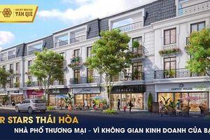 Sức nóng của shophouse TNR Stars Thái Hòa