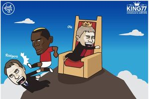 Ảnh chế: Pogba tỏa sáng, Man Utd đòi lại ngôi đầu cho Leicester 'mượn'