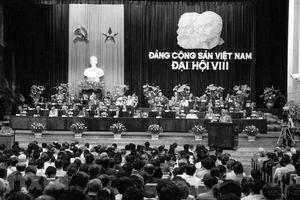 ĐH Đảng VIII: Tiếp tục đổi mới, đẩy mạnh công nghiệp hóa, hiện đại hóa