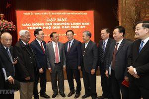 Hà Nội gặp mặt các vị nguyên lãnh đạo thành phố qua các thời kỳ