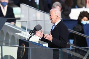 Hy vọng đan xen lo sợ nhìn từ lễ nhậm chức của Tổng thống Joe Biden