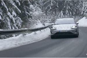 Chiếc xe concept tự lái của Sony đã chính thức được chạy thử nghiệm trên đường công cộng