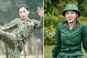 Hoa hậu Kỳ Duyên 'ngầu' ra sao trong trang phục áo lính?