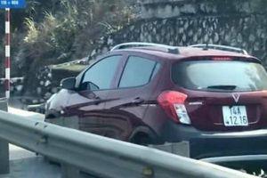Quảng Ninh: Clip xe ô tô con đi vào đường dành cho xe thô sơ