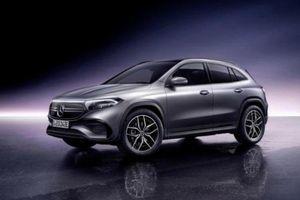 Cận cảnh Mercedes-Benz EQA chạy điện sắp ra mắt
