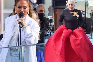 Jennifer Lopez & Lady Gaga lên đồ đối lập tại lễ nhậm chức Tổng thống Mỹ