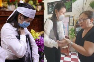 Bị mẹ Vân Quang Long gạt tay, tỏ thái độ khi cúi đầu xin lỗi, Linh Lan khóc nấc