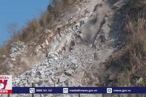 Khẩn trương khắc phục sự cố sạt lở núi Nà Khao, Thái Nguyên
