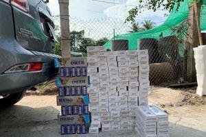 Buôn lậu thuốc lá gia tăng dịp cận Tết