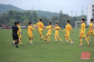 Kết thúc lượt đi vòng loại U19 Quốc gia 2021: U19 Đông Á Thanh Hóa xếp thứ 3