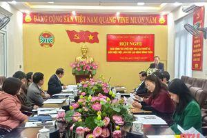 Hội nghị bàn công tác phối hợp đào tạo nghề và giới thiệu việc làm cho lao động nông thôn