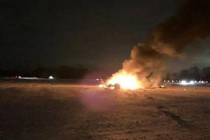3 người tử nạn trong vụ trực thăng Vệ binh quốc gia Mỹ rơi tại ngoại ô New York