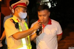 Yên Bái: Một lái xe vi phạm nồng độ cồn bị phạt gần 41 triệu đồng