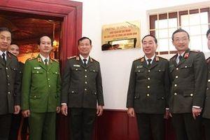 Khánh thành Phòng tưởng niệm Chủ tịch Hồ Chí Minh và các liệt sỹ CAND