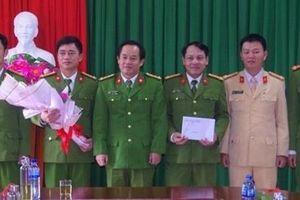 Công an Thừa Thiên Huế khen thưởng các đơn vị có thành tích xuất sắc
