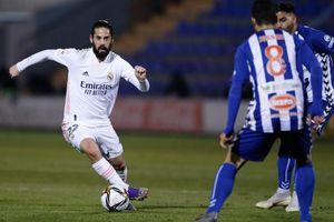 Thua sốc đội hạng Ba, Real Madrid bị loại 'cay đắng' ở Cúp Nhà vua Tây Ban Nha