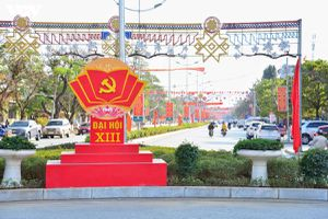 Các tỉnh Tây Bắc chào đón Đại hội Đảng XIII